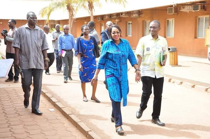 Grève SYNTSHA : le ministère de la santé en visite de terrain