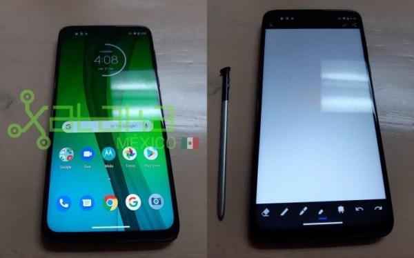 Moto G Stylus - новые фотографии смартфона Motorola со ...