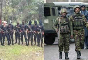 VIDEO: Alleged Clash Between ESN & Nigerian Military! Mazi Simon Ekpa's Emergency Broadcast