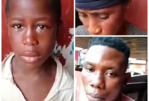 """WICKEDNESS: Woman Caught Red-handed Using Her 7-Year-Old Granddaughter For """"Ashawo"""" Business"""