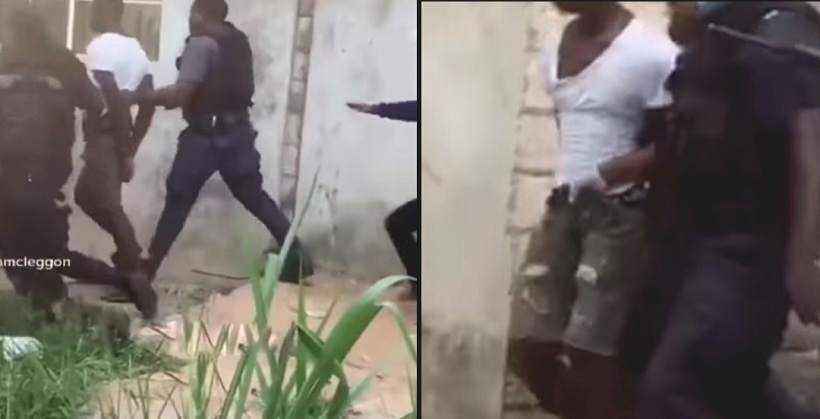 VIDEO: How Police saved a young man from been killed For Allegedly Killing his Pregnant Girlfriend