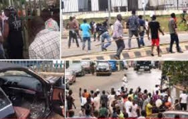 Protesters should go look for work, says Garba Shehu as pro, anti-Buhari  groups clash in Abuja - Vanguard News