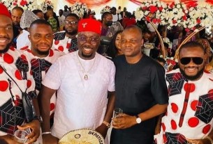 Biafra: Igbos react as Abba Kyari attends Obi Cubana's mother's burial - Read comments