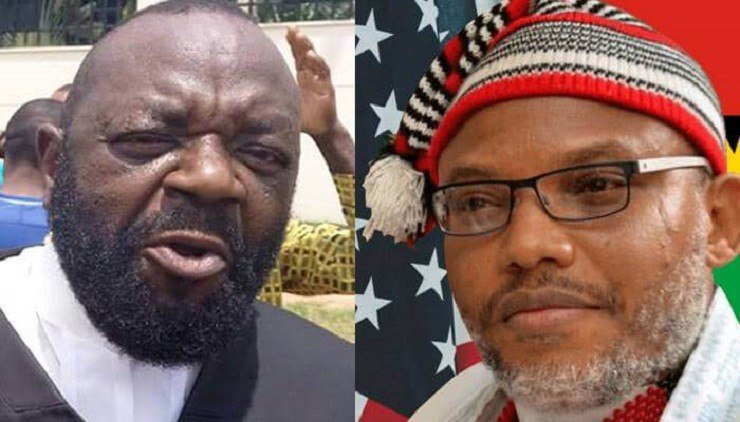 Nnamdi Kanu: Barr Alloy Ejimakor reveal what to expect in court