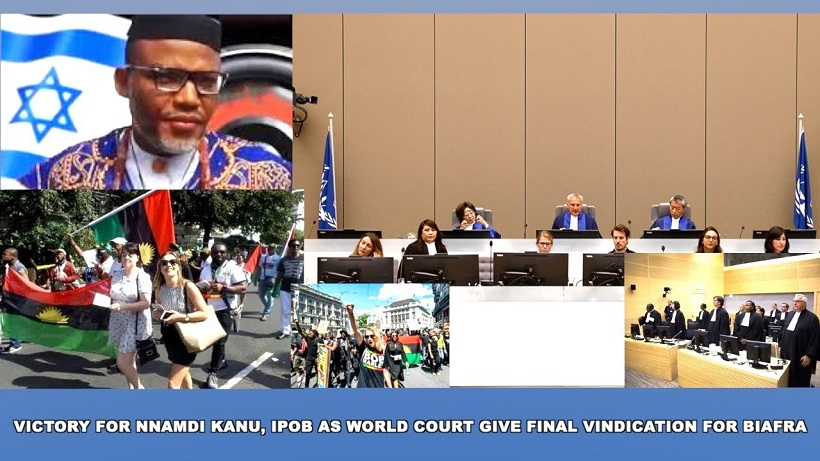 VIDEO: BRAVO!! Int'l court fix date when Nnamdi Kanu will be released back to UK as they take over the case