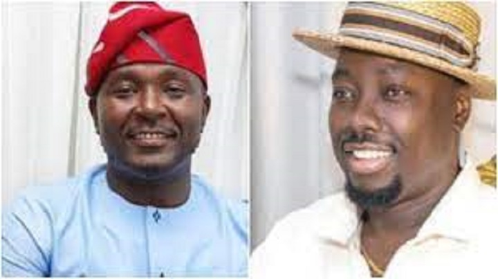 Lawmaker, Akin Alabi opens up on why he sprayed 9k at Obi Cubana's mother burial