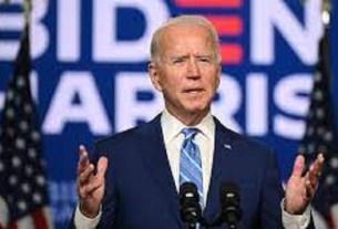 """I don't care if you think I'm Satan reincarnated"" Biden tells crowd"