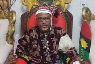 BREAKING: APC Chieftain Begs Buhari To Release Nnamdi Kanu, reveals what has befallen them