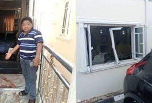 This Is How Sunday Igboho's House Was Attacked