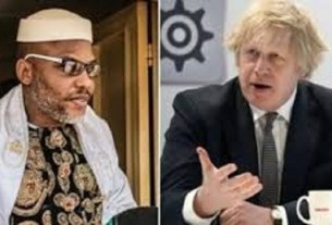 BREAKING!!! UK Government Seeking For Clarification And Legality of Nnamdi Kanu's Arrest