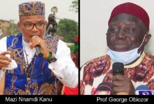 What Professor Obiozor is doing for Nnamdi Kanu
