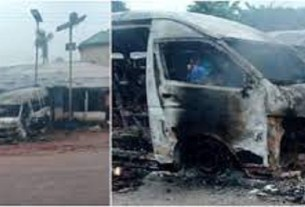 Sit-at-home: IPOB Members Shoot At Bus, Burns Passenger Alive For Flouting Order In Imo