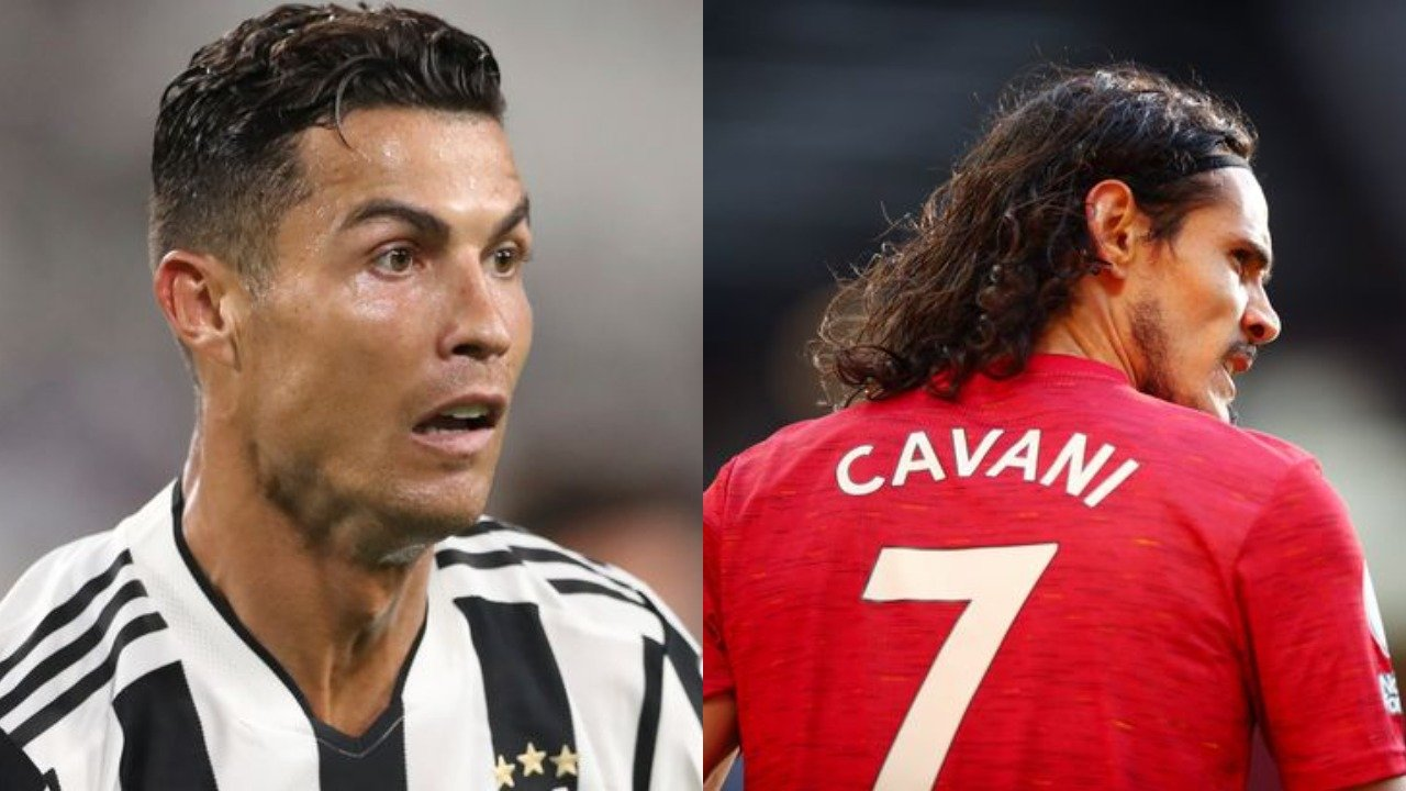 BREAKING: Man Utd confirm Ronaldo has taken no 7 shirt from Cavani