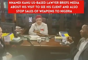 VIDEO: Nnamdi Kanu's international lawyer exposes what he saw in DSS office