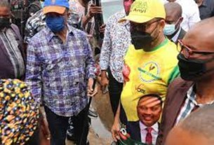 Governor Obiano leads protest against IPOB sit-at-home order, what he told residents will shock you