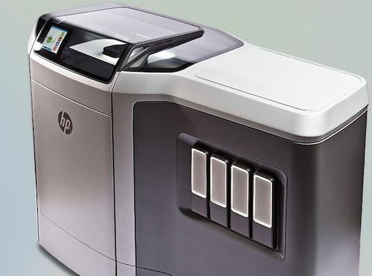 hp multi jet fusion 3d printer