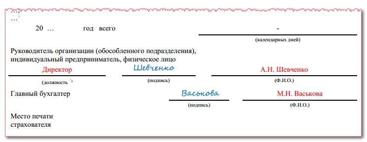 на что может подписать себя бухгалтер у ип