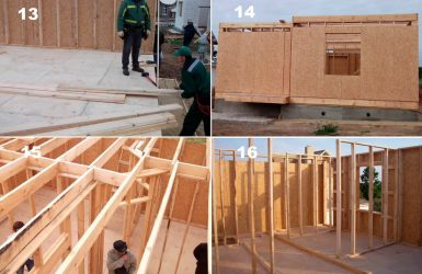 Технология строительства каркасного дома поэтапно ...