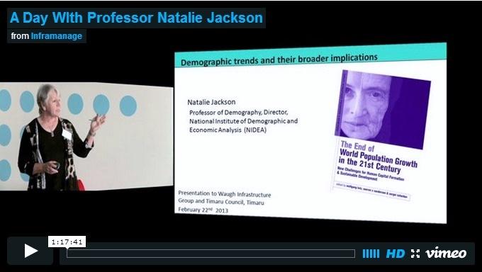 NZ Demography by Prof. Natalie Jackson