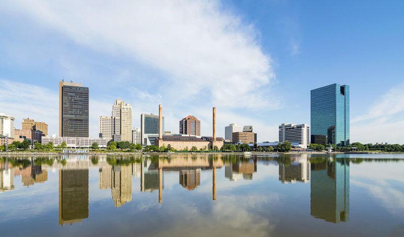 Toledo Ohio Skyline -featured