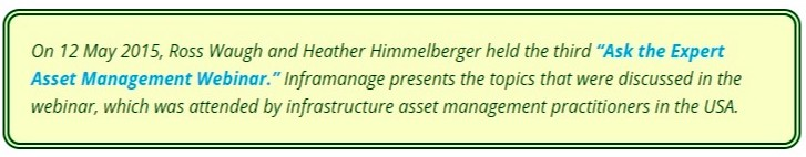 infrastructure asset management