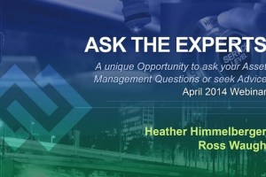 "Inframanage Publishes ""Ask the Experts April 2014 Webinar eBook"""