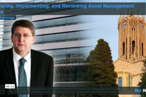Preparing, Implementing, and Reviewing Asset Management Plans (Video)