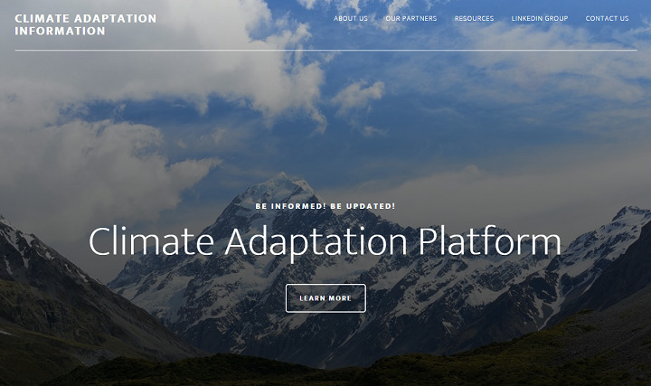 Cllimate Adaptation Information