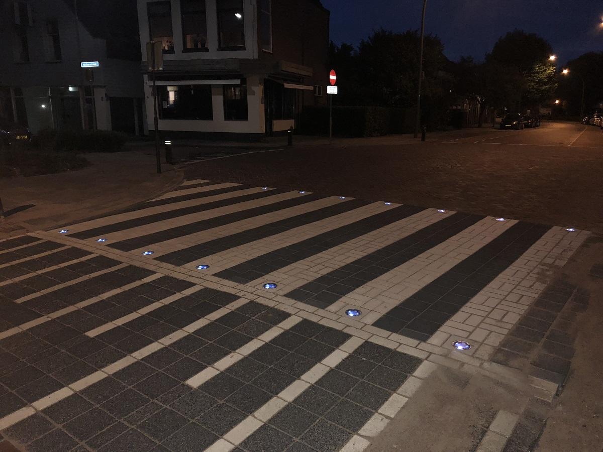 LED markering oversteekplaats