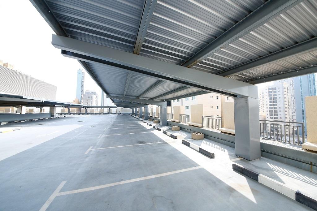 Parkeerplaats zonnepanelen