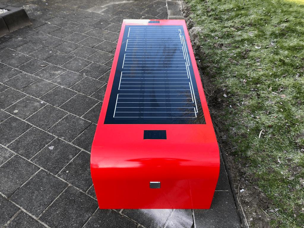 Solar bench HvA