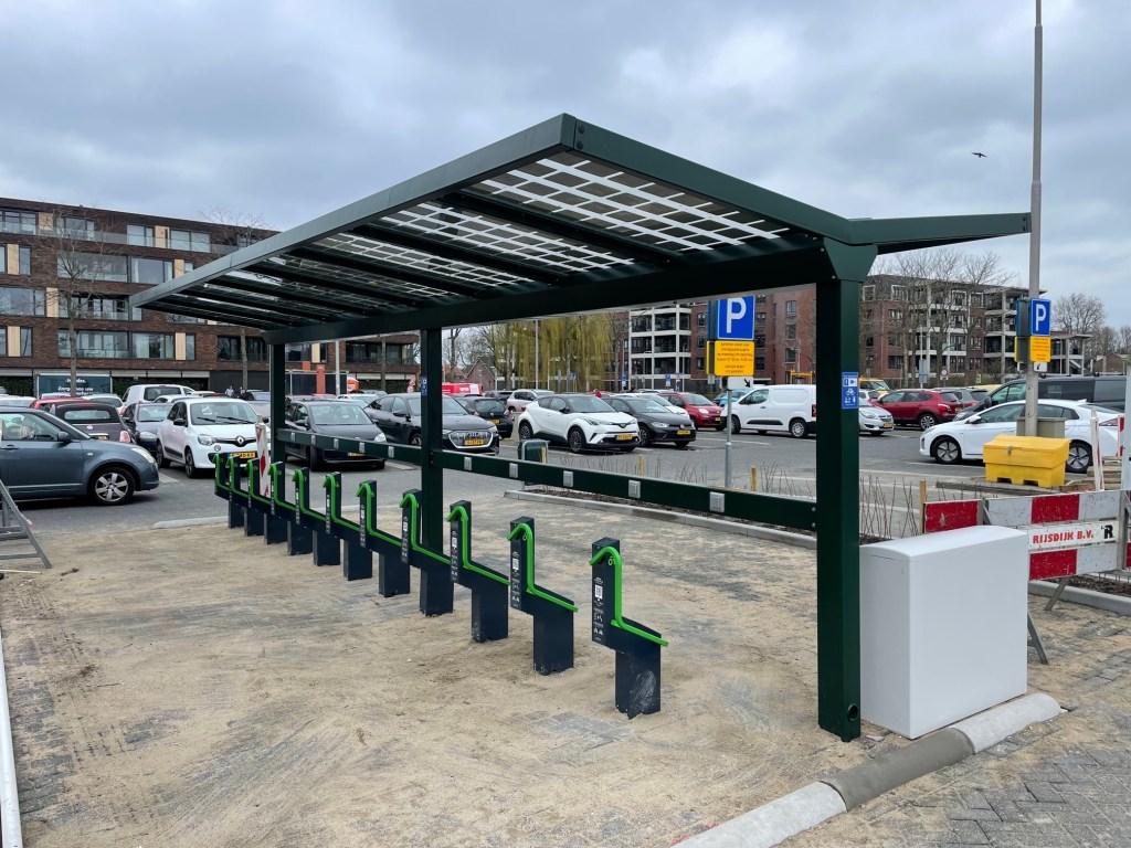 Solar fietsenstalling zonne-energie