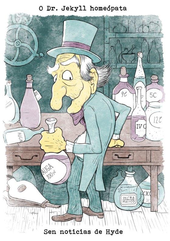 O Dr. Jekyll homeópata