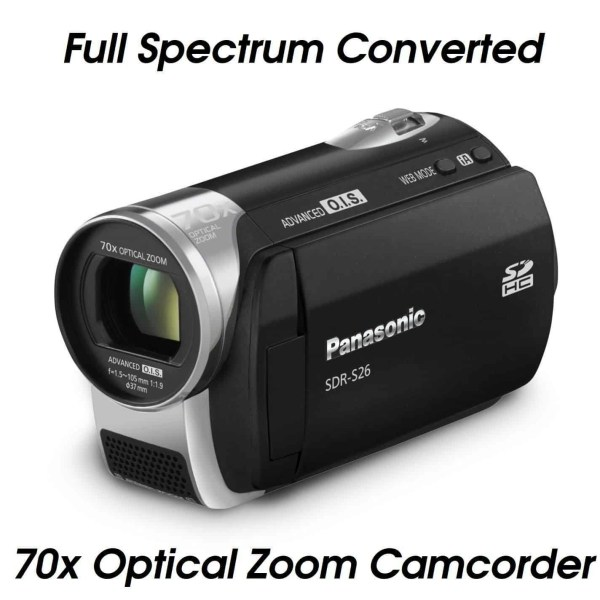 FULL SPECTRUM CAMERA CAMCORDER 70x ZOOM UFOLOGY BIGFOOT