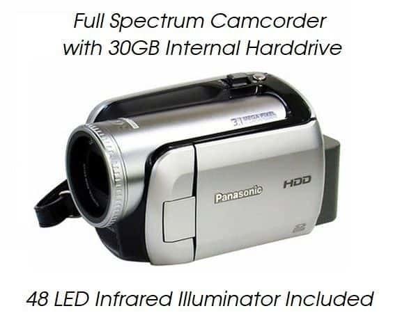 h20 full spectrum camcorder ghost hunting
