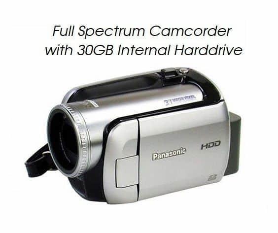full spectrum camcorder nightvision