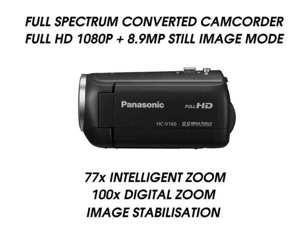 V160 FULL SPECTRUM UFO CAMCORDER GHOST HUNTING P900 NIKON