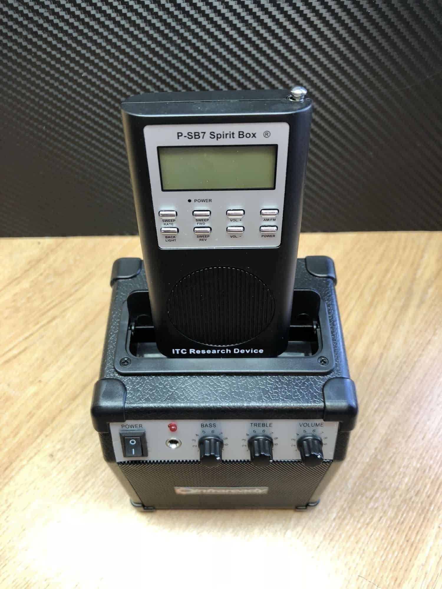 Spirit box speaker psb7