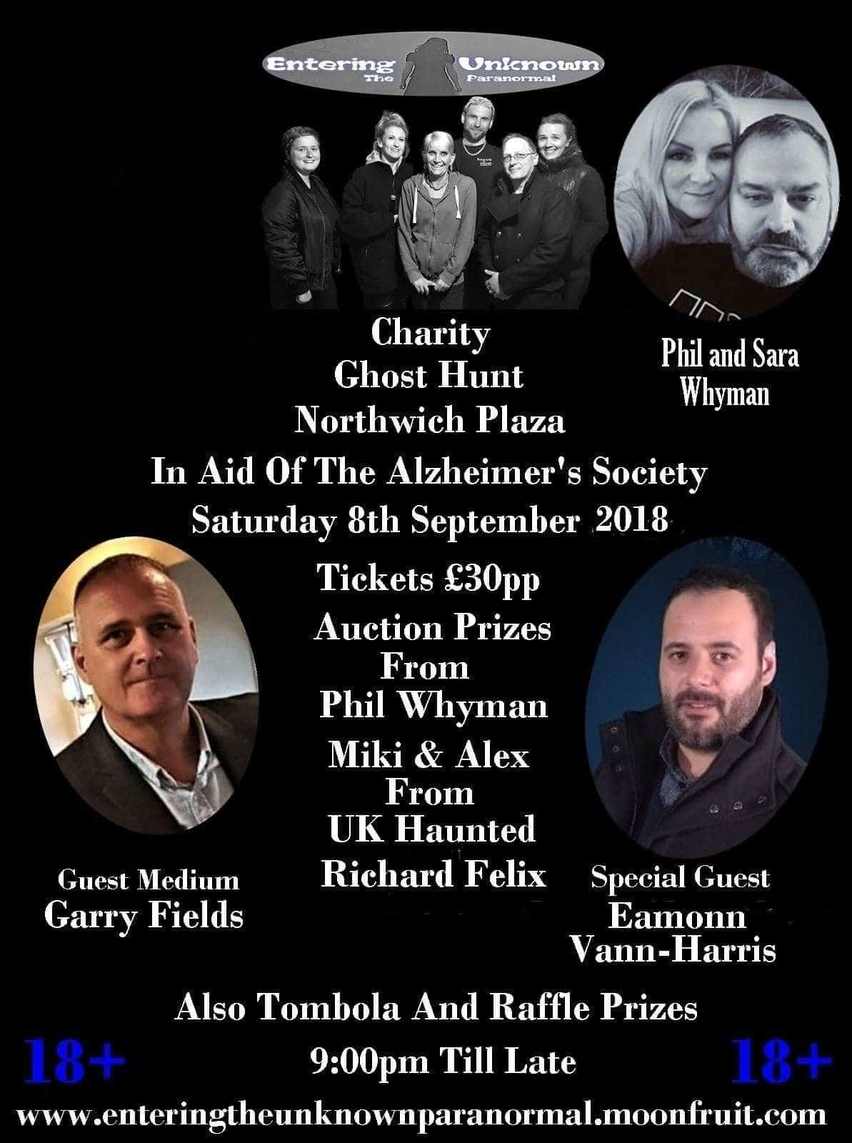 Charity ghost hunt