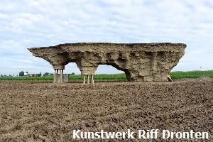 Kunstwerk Riff Dronten