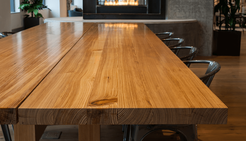 Rustic Pine Office Furniture