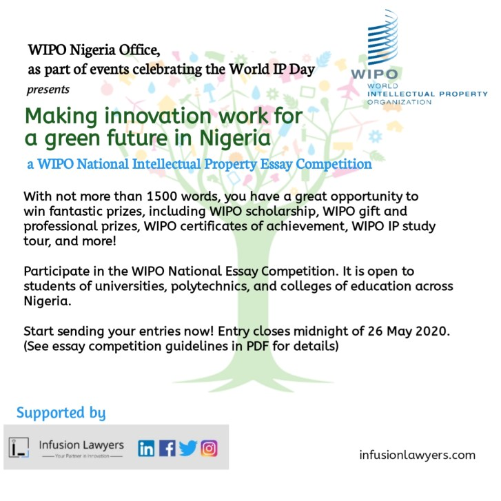 WIPO National Intellectual Property Essay Competition
