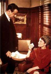 CHARADE, Walter Matthau, Audrey Hepburn, 1963