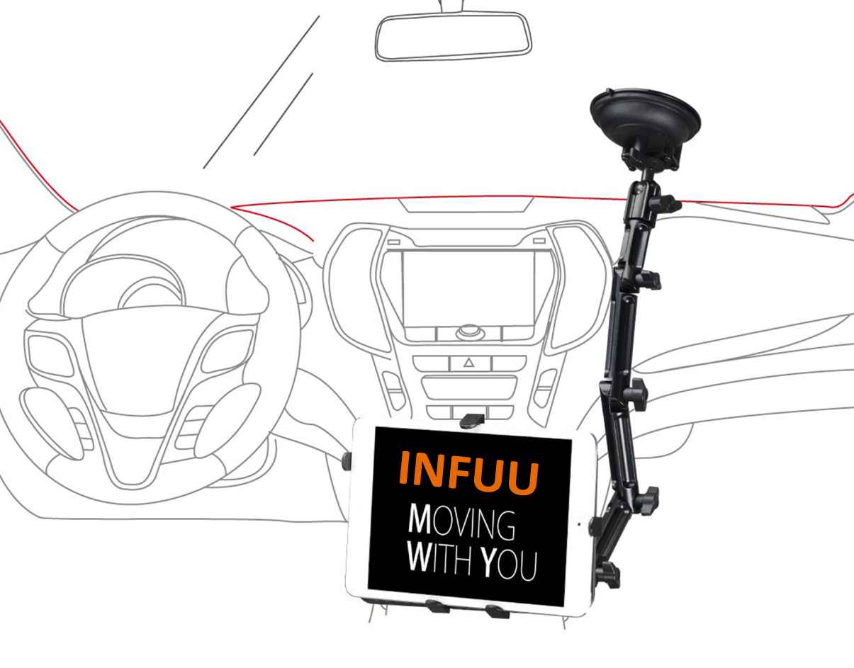 Auto Tablet Infuu Holders