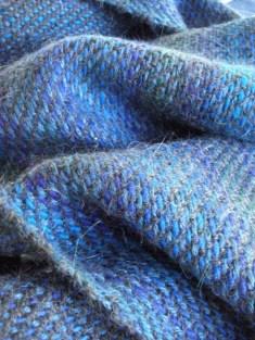 blue three shaft twill