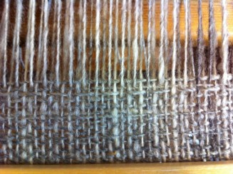 Råby on the loom