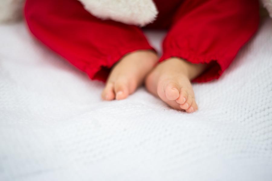 baby feet Portrait