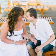 Bodrum Engagement Session on a beach :: J + G