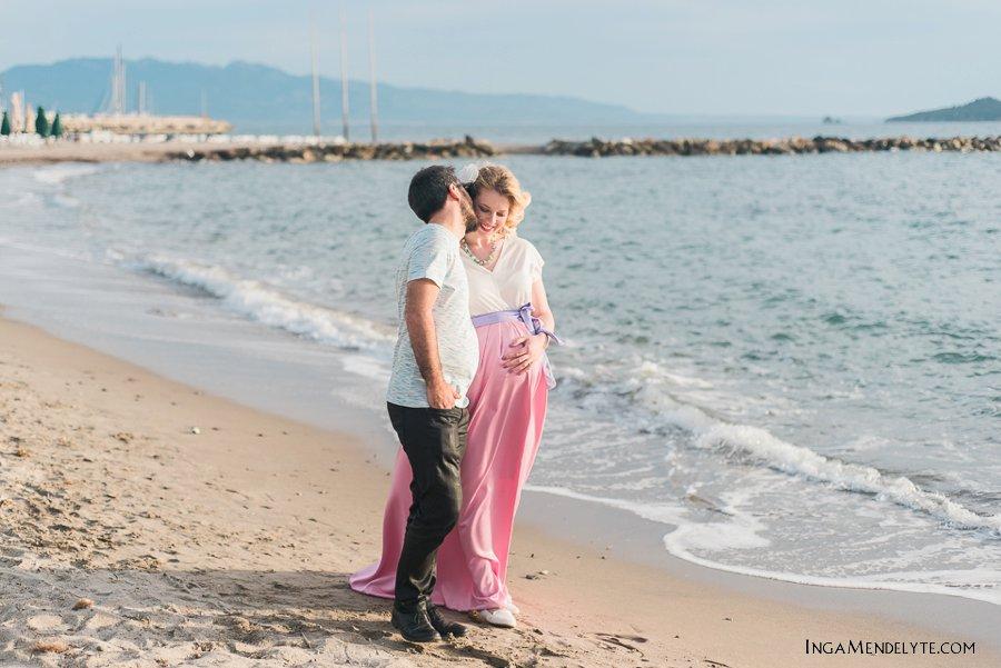 maternity session in Turgutreis beach