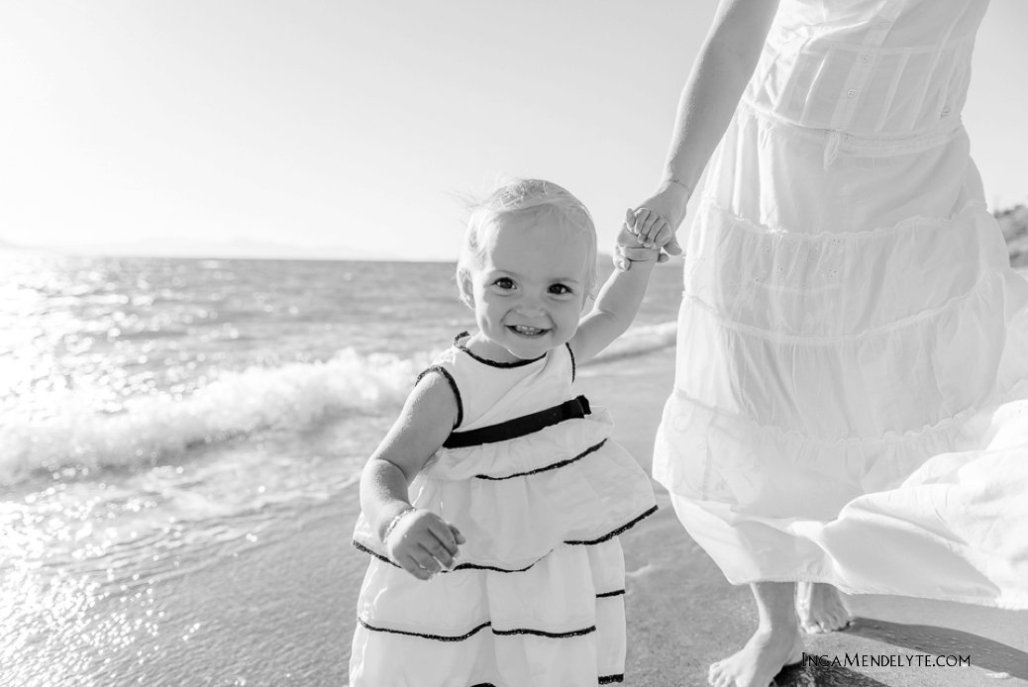 A+B+E Family session in Akyarlar, Bodrum
